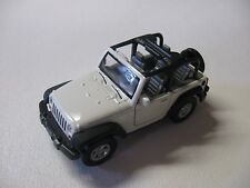 1:38 SCALE WELLY JEEP WRANGLER RUBICON DIECAST PULLBACK W/O BOX