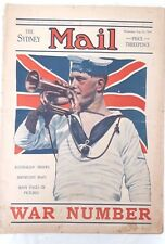The Sydney Mail,1914 Early WW1 #,Aussie Troop Photos & Info. *Scarce*