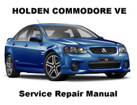 COMMODORE VE BERLINA CALAIS Auto Owners Workshop Service Repair Manual PDF CD-R