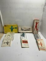 Vintage Russian Military Model Air Plane Lot Of 3