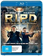 R.I.P.D. Rest In Peace Department Blu-Ray DISC - All Zone - NEW