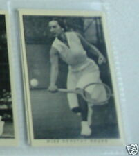 #40 Miss Dorothy tarjeta de cigarrillo redondo de tenis-Sport