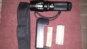 Falcon LED Tactical Zoom Flashlight kit with blinding strobe effect. From N. Fl.