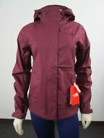 NWT Womens The North Face Venture 2 Waterproof Dryvent Hooded Rain Jacket - Red