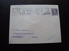 FRANCE - enveloppe 21/4/1953 (B12) french