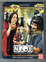 NOOB - INTÉGRALE SAISON 3 - ÉDITION LIMITÉE - 18 ÉPISODES - COFFRET 2 DVD - NEUF