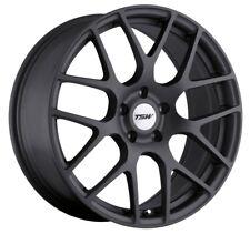 17x7.5 TSW Nurburgring 5x114.3 Rims +45 Matte Gunmetal Wheels (Set of 4)