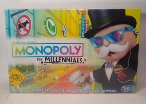Monopoly for Millennials Millenials Millenial Edition Board Game BRAND NEW!