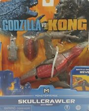 Skullcrawler GODZILLA VS KONG with Heav Monsterverse New Battle Damage Free Ship