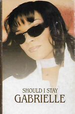 Gabrielle ‎Should I Stay CASSETTE SINGLE Electronic RnB/Swing House Drum n Bass