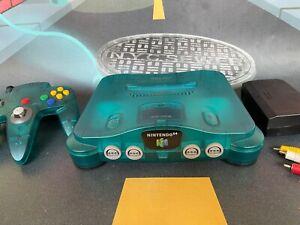 Consola Nintendo 64 N64 (Nintendo 1996) Ice Blue