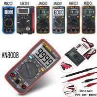 ANENG 8008 True-RMS Digital Multimeter 9999 Counts Square Wave Voltage Ammeter