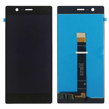 Para Nokia 3 Reemplazo de la Pantalla LCD Táctil Digitalizador Montaje Negro N3