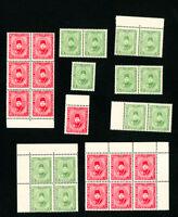 Egypt Stamps # M4-5 VF OG NH Lot of 13x Scott Value $325.00