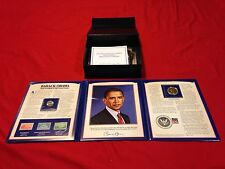 President Obama International Stamp Collection And Coins - PCS Stamps & Coins