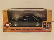 Walking Dead Daryl Dixon 2006 Dodge Charger Police Car 1:43 Greenlight 5 inch