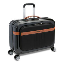 "Hartmann PC4 21"" Polycarbonate Carry On Garment Bag Spinner Suiter Black"