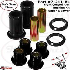 Prothane 7-211-BL Upr & Lwr Frt Control Arm Bushing Kit for 65-70 Impala/Belair