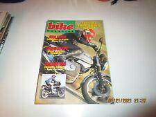 Bike Magazine UK DEC 1987 - NORTON CLASSIC - HONDA NX650