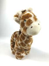 "Manhatten Toy Company Giraffe Plush Stuffed 9.5"" Bean Bag Toy Animal Standing B4"