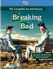 BREAKING BAD: SEASON 2******BLU-RAY******REGION FREE******NEW & SEALED