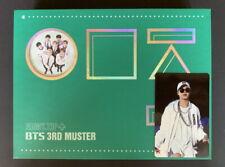 BTS-Bangtan Boys 3RD MUSTER ARMY.ZIP+ DVD 3 DISC Full SET JIMIN PHOTO CARD