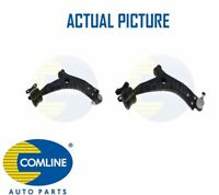 2 x NEW COMLINE FRONT LOWER TRACK CONTROL ARM WISHBONE PAIR OE QUALITY CCA1082