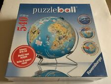 NEW SEALED RAVENSBURGER PUZZLE BALL GLOBE WITH DISPLAY STAND 540 PIECES