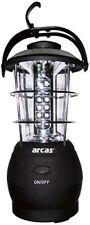 Lanterne 36 LED Arcas avec Boussole (noir)