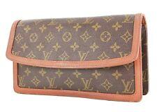 Authentic Vintage LOUIS VUITTON Dame GM Monogram Clutch Bag Purse #35764
