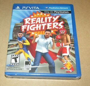 Reality Fighters (Sony Vita) Brand New / Fast Shipping