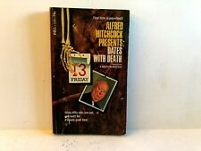 Alfred Hitchcock Presents Dates With Death Dell 1722 Vintage Paperback