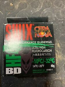 SWIX HF4 BD HIGH FLUORO GLIDE WAX