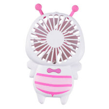 Portable Rechargeable Fan Personal Hand Held Pocket LED Fan Cooler_Pink