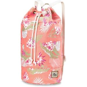 Dakine Women's Sadie Pack 15L Beach Tote Bag Waikiki Canvas Print New