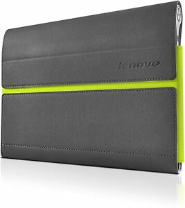 Lenovo Yoga Tablet 10 Protective Sleeve & Film Case & Cover - Black / Green