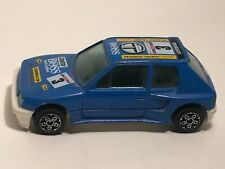 RARE VINTAGE PEUGEOT 205 TURBO 16 RALLY Scale 1:43 Burago Made in Italy