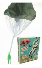 """Schylling PARATROOPER 17"""" Tangle Free Parachute Retro Army men Military Toy NEW"""