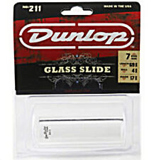 DUNLOP MODEL 211 Glass Slide Heavy Wall Thickness 7 Ring Size GUITAR SLIDE