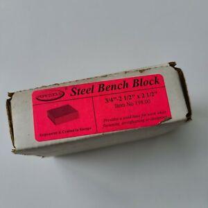 Steel Bench Block 2-1/2 X 2-1/2 X 3/4