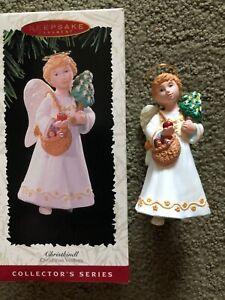 "NEW! Hallmark Collector""s S.CHRISTMAS VISITOR Ornament CHRISTKINDL"