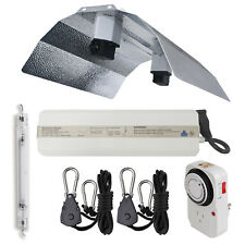 Horticulture 1000W DE Watt HPS Grow Light System Double Ended Wing Reflector