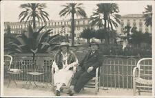Nice Promenade, 1928. Lucy & Harold  QR766