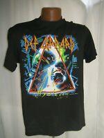 VINTAGE NEVER WORN DEF LEPPARD HYSTERIA 1987 tour Concert T Shirt Size L VTG 87
