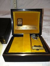 Vintage Bulova Accutron Box & Owners Guide 1971 Original Box and Accessories