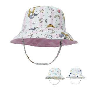 Kids Caps Wide Brim Toddler Hat Baby Boy Hats UPF 50+ Bucket Hat Baby Sun Hat
