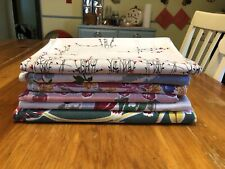 Lot Of 6 Vintage Tablecloths