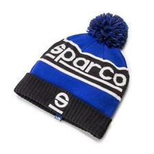 SPARCO Windy Bobble Winter Hat acrylic cap NAVY BLUE/BLACK