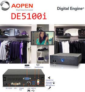 Professional Computer Aopen DE5100i With i3 Intel CPU 4GB RAM 320GB HDD USB 3.0