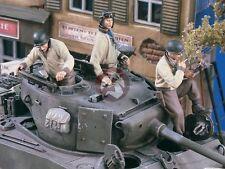 Verlinden 1/35 US Tank / AFV Crew Soldiers WWII (3 Full Figures) [Resin] 1619